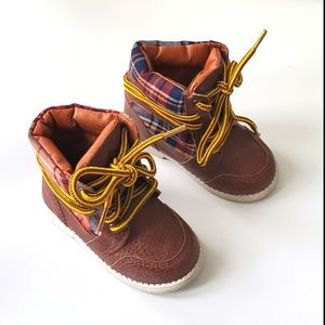 Mexx Brown Hightop Boots Size 6